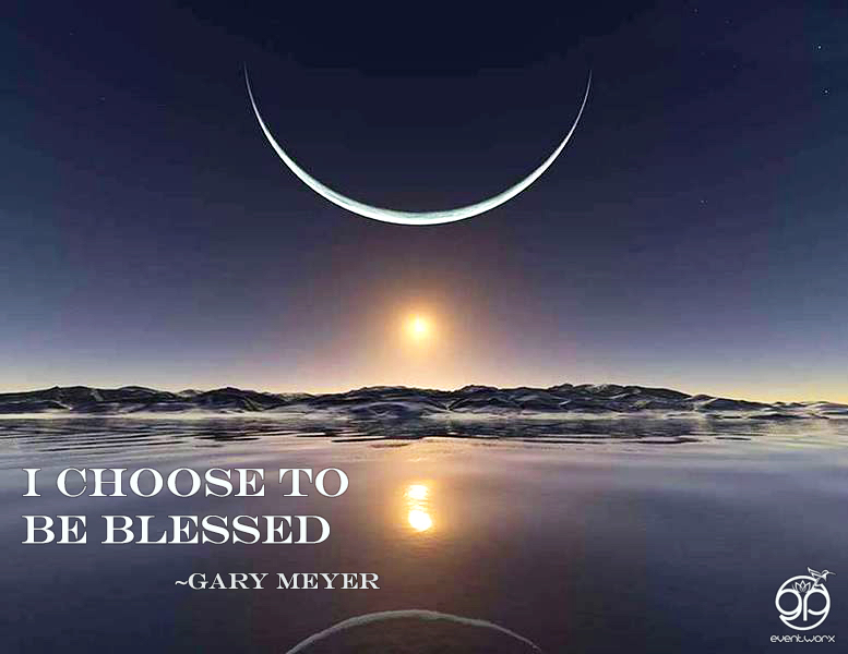 i choose to be blessed