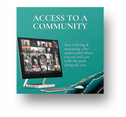 Access to a community image